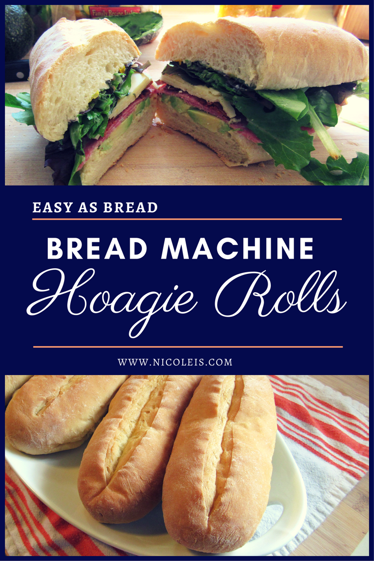 Bread Machine Hoagie Rolls Recipe | Easy as Bread