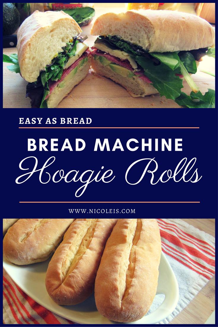 Bread Machine Hoagie Rolls Recipe | Easy as Bread