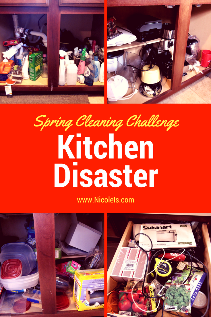 Kitchen Disaster | Spring Cleaning Challenge