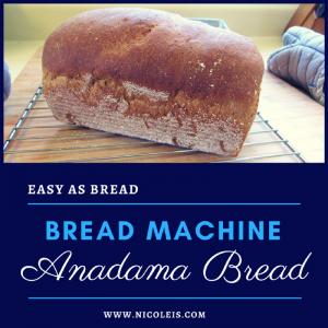 bread machine anadama bread