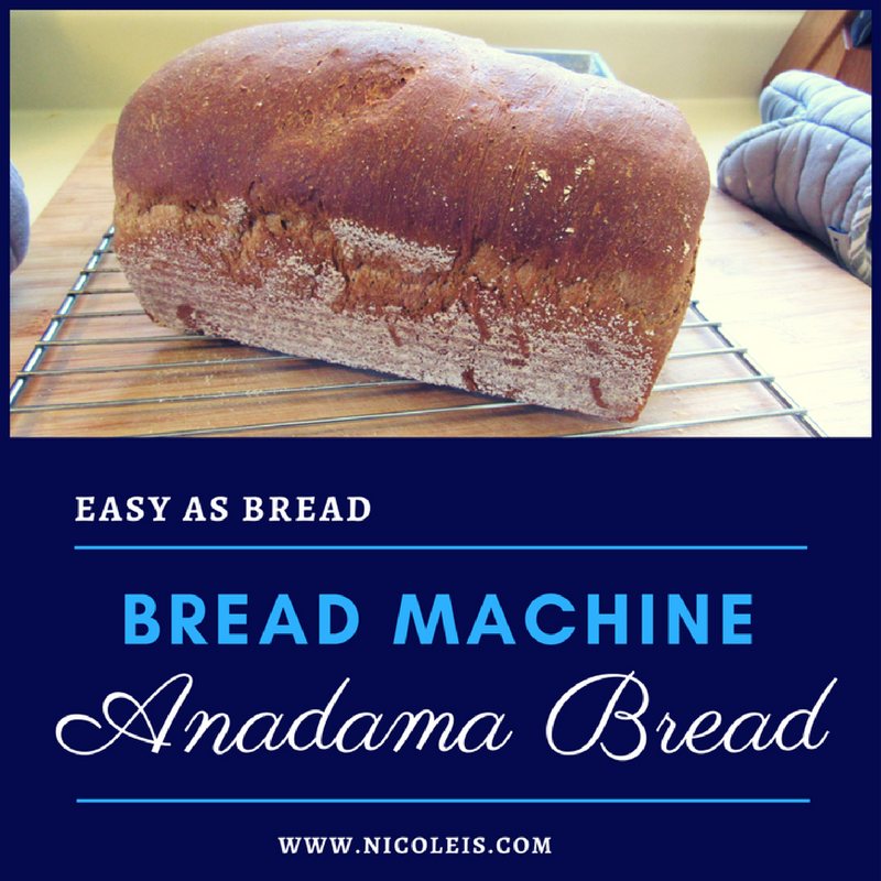 Anadama bread | Easy as Bread www.nicoleis.com