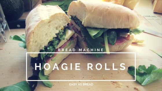 Bread Machine Hoagie Rolls | No Need To Measure www.NicoleIs.com