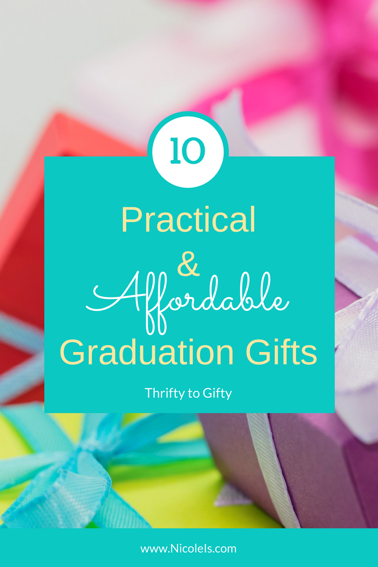 Practical & Affordable Graduation Gifts | Thrifty to Gifty - OMG! This list is amazing! Tons of awesome ideas for grads!!