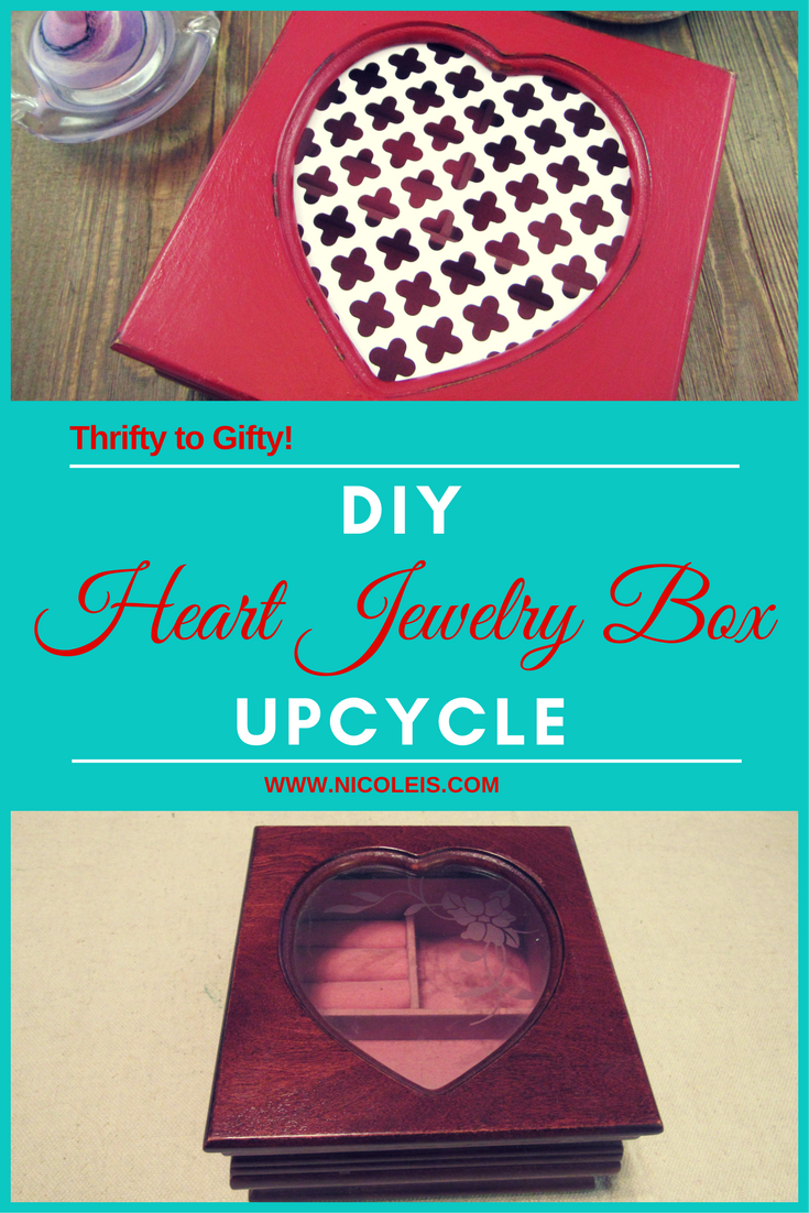 DIY Project Heart Jewelry Box | Thrifty to Gifty - So Precious!