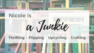 Nicole is a Junkie | Thrifting, Upcycling, Flipping, Crafting