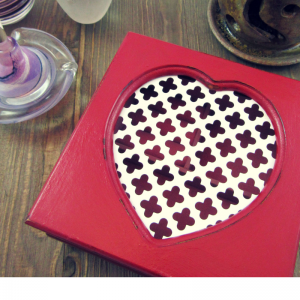 DIY Project - Heart Jewelry Box Upcycle | Thrifty to Gifty