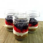 Sugar Free Patriotic Pretzel Salad | Dessert Recipe