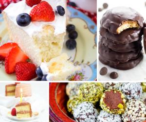 15 Decadent Sugar Free Desserts | Dessert Recipe Round Up