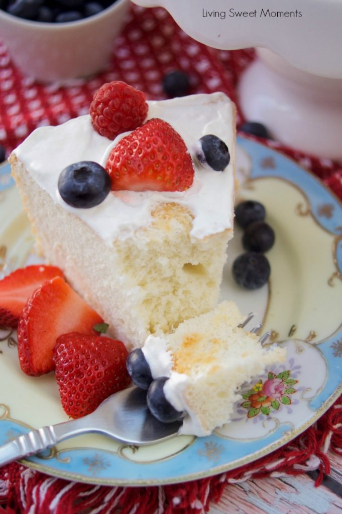 Low Sugar Angel Food Cake