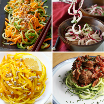 25 Sensational Spiralizer Recipes | Zoodles to Salads to Stir-fry