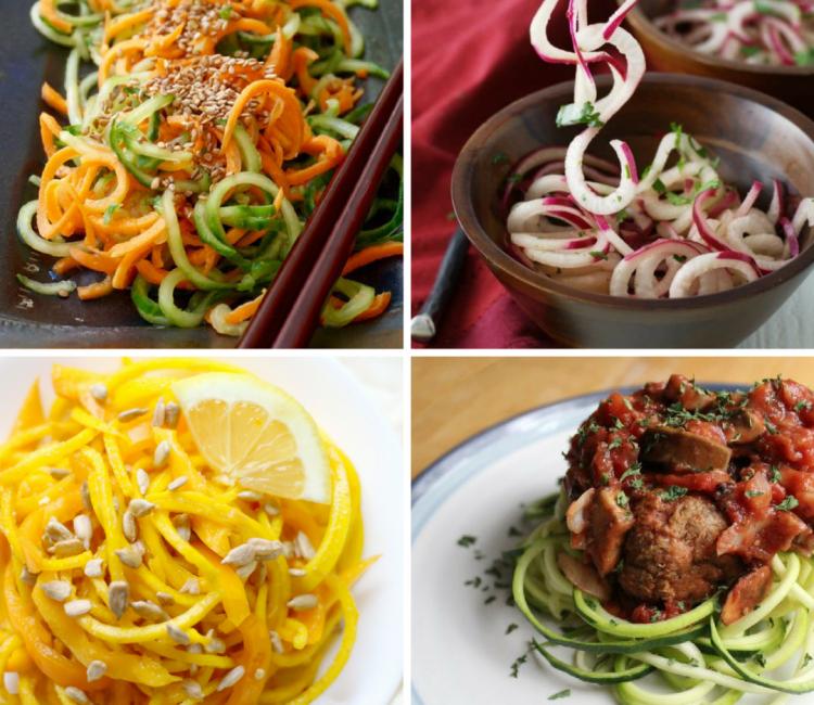 25 Sensational Spiralizer Recipes | Zoodles to Salads to Stir-fry