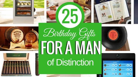 Birthday Gifts For A Man
