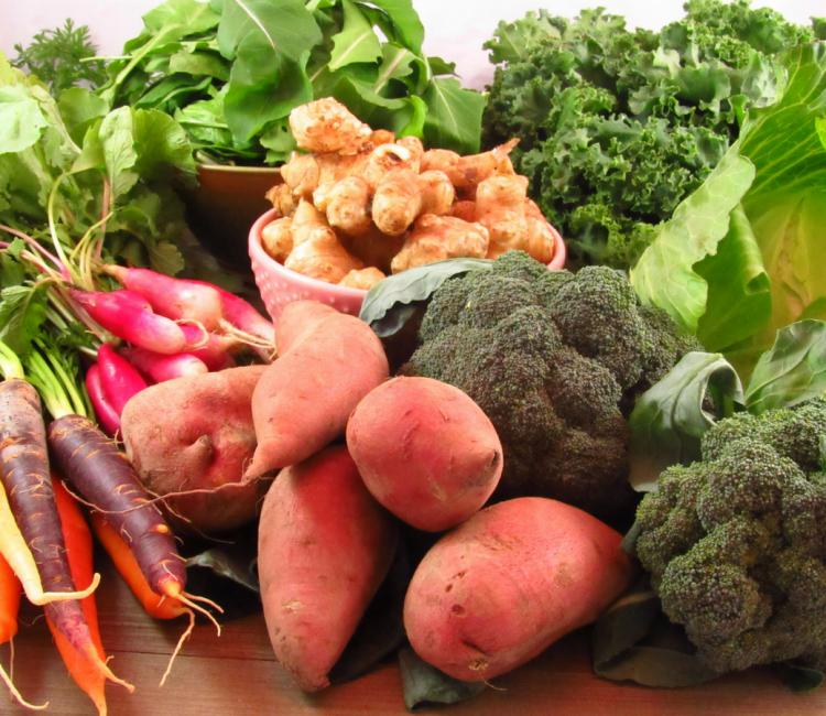 Why I LOVE my CSA: Roasted Fresh Carrots
