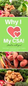 Why I LOVE My CSA: Fresh Roasted Carrots | Sustainable Living | Eating Seasonally | Seasonal Vegetables | Organic Produce | Community Supported Agriculture | Eating Local | Buying Local | Homestead | Homesteading | Carrot Recipe | Side Dish Recipe